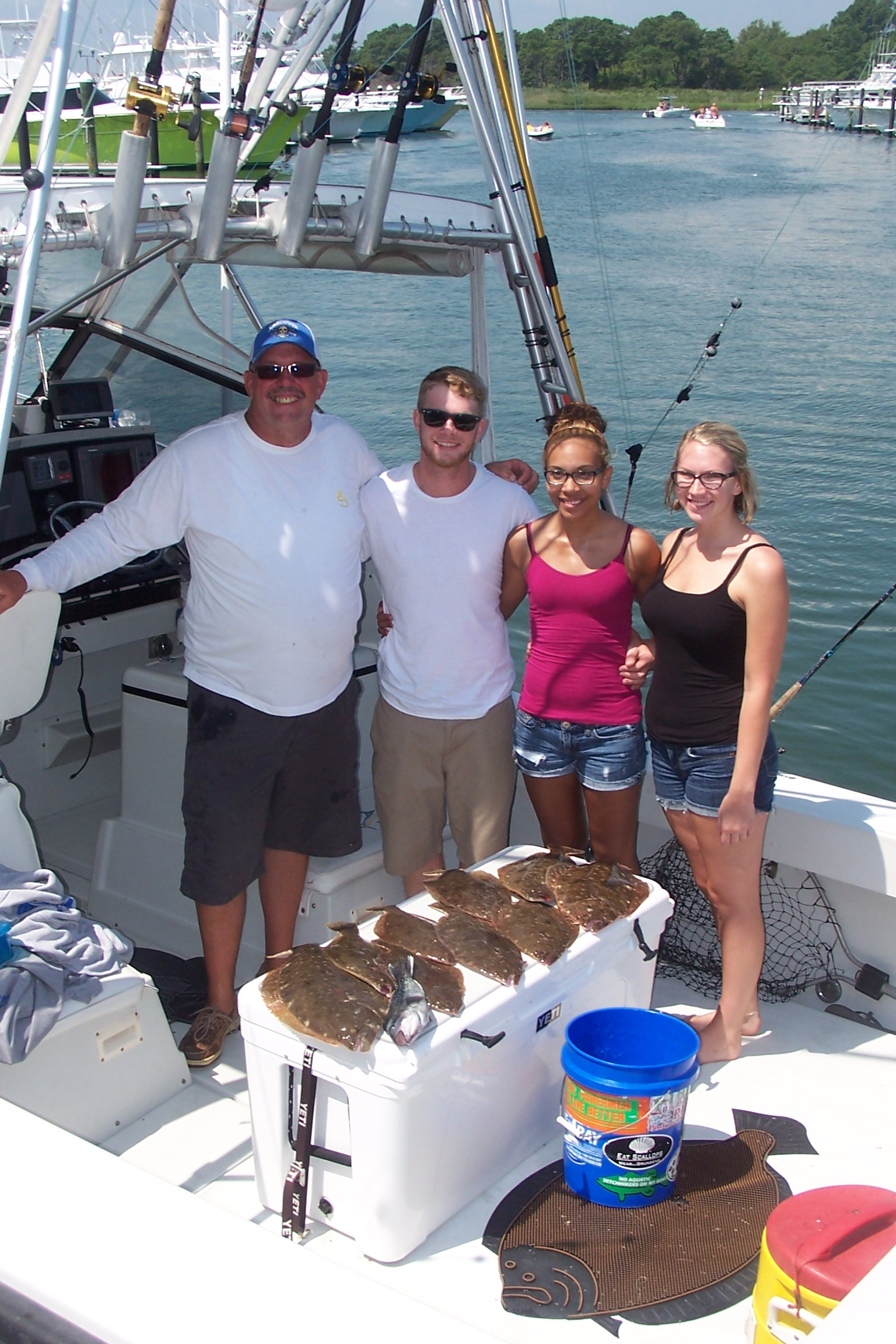 19 august 2014 indian river marina fishing reports for Laura lee fishing report