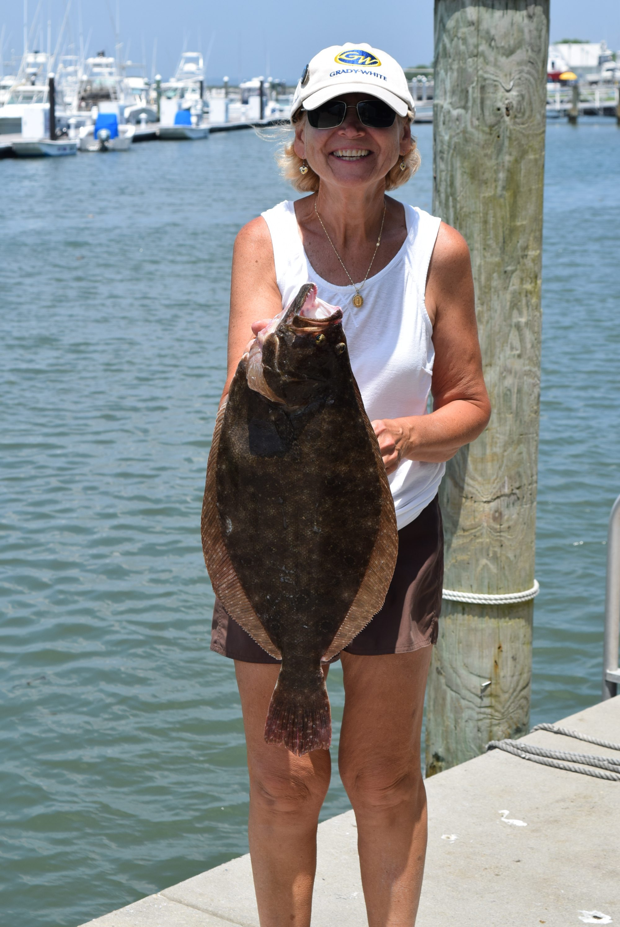 Fishing report 7 3 2016 indian river marina state of for De fishing report