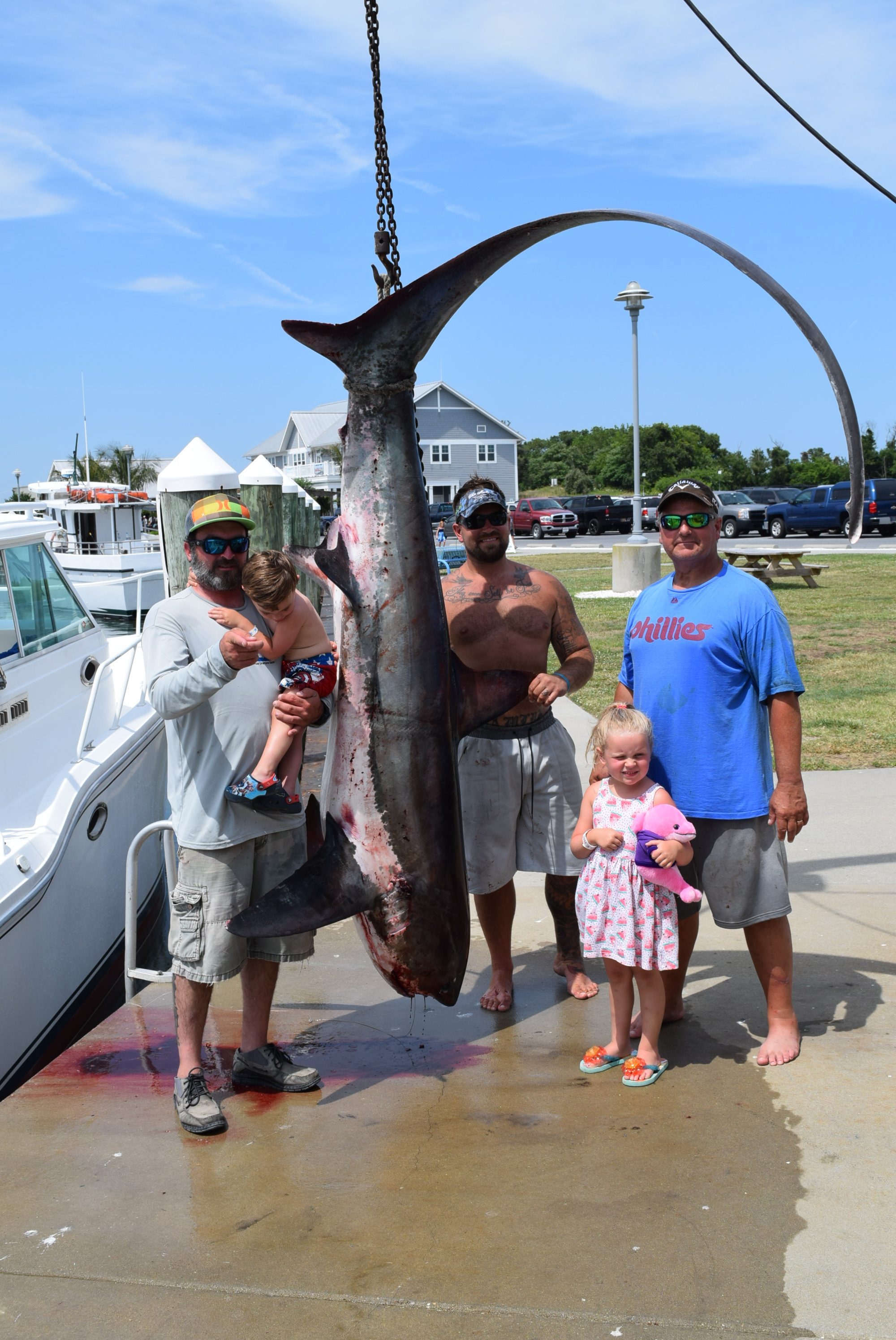 Fishing report 7 12 17 indian river marina state of for De fishing report